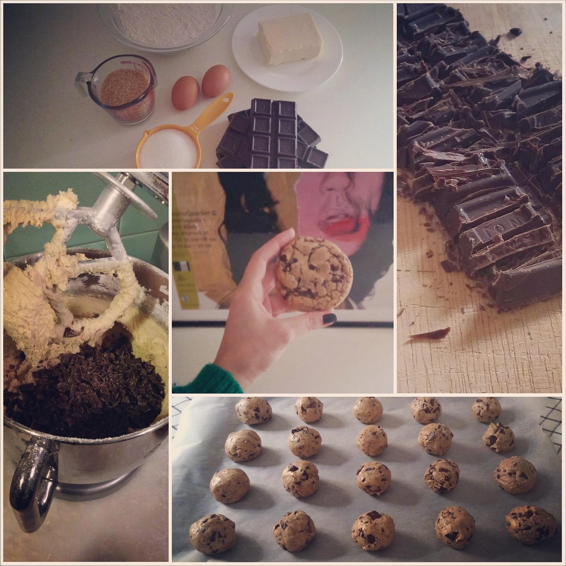 Γιγαντομπισκότα σοκολάτας