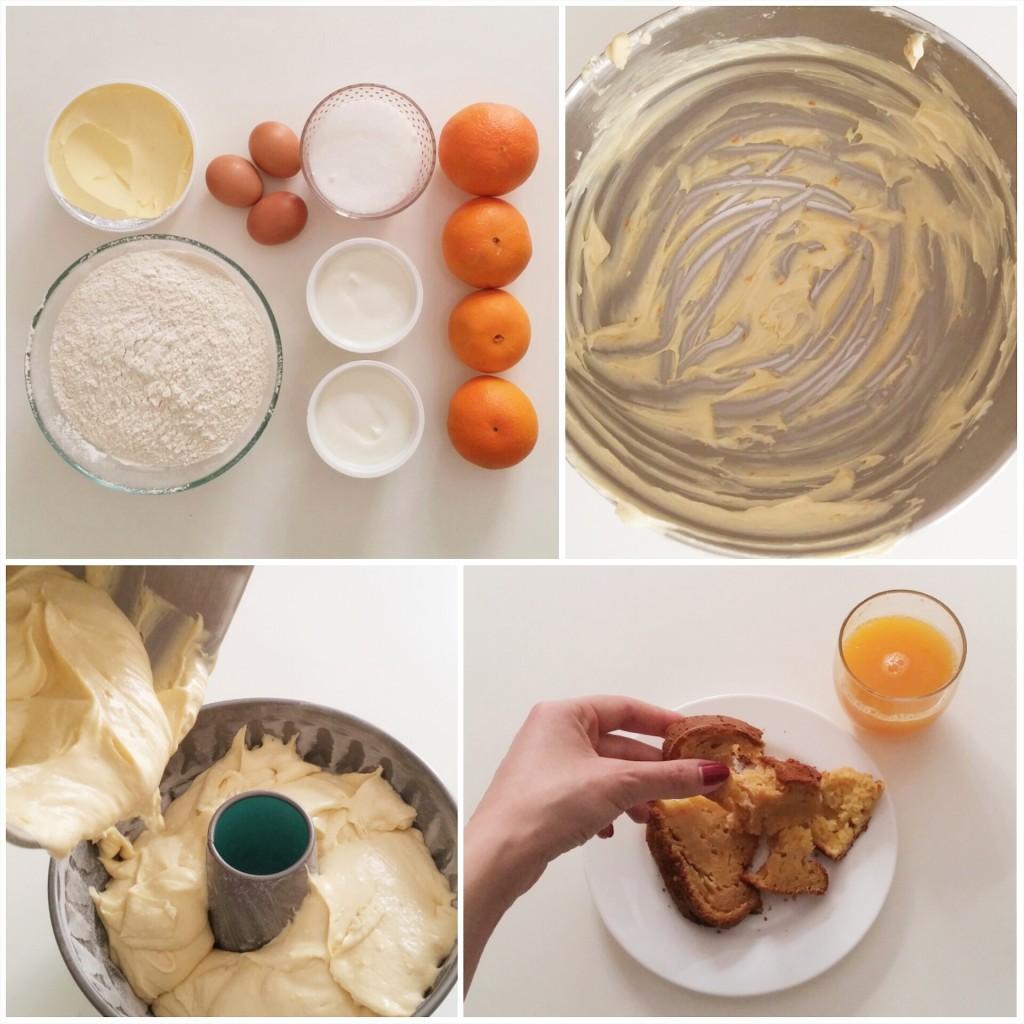 Κέηκ πορτοκαλιού με γιαούρτι