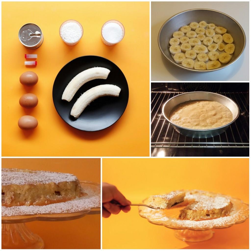 Ομελέτα με μπανάνες στο φούρνο